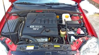 Chiptning engine Daewoo Lacett 1600 2007 year